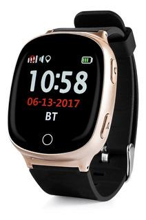 Reloj Localizador Gps Ancianos Boton Sos Alerta Caidas - Smartwatch Pantalla Táctil, Para Chip De Celular