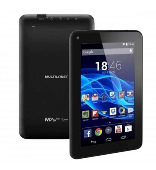 Tablet Multilaser M7s Go Wi-fi 16gb 1gb Qc Preto Nb316