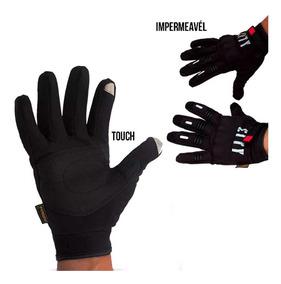 Luva Motocross Touch Motociclista Bike 100% Impermeável