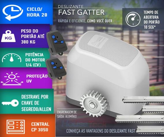 Kit Motor Pecinin Gater ®fast + 2cont 3m Cremalheira