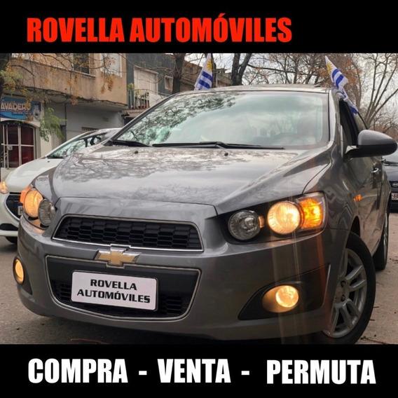 A Chevrolet Sonic Ltz Automatico 2012 Con Techo Y Cuero!!