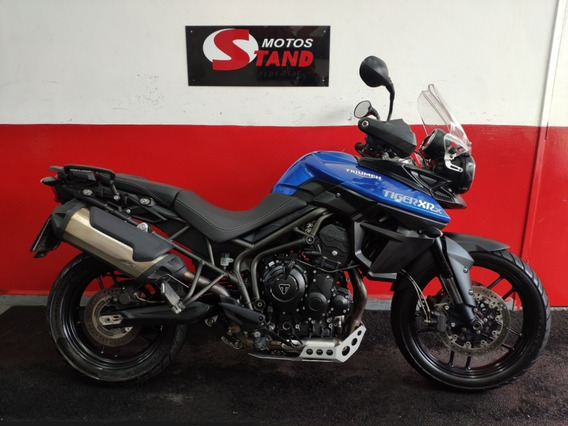 Triumph Tiger 800 Xrx 800xrx Low Abs 2016 Azul