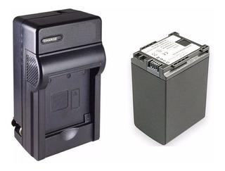 Kit 1 Cargador + 1 Bateria Bp-827 Para Video Camara Canon