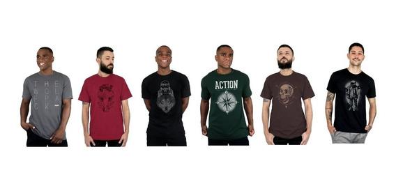 Kit 5 Camisetas - Diversos Modelos - Ótima Qualidade !