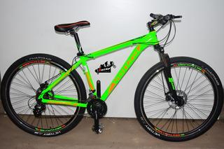 Bicicleta Venzo Skyline Rodado 29 21 Vel Discos Shimano