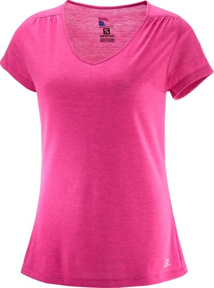 Remera Mujer - Salomon - Ellipse Ss Tee - Hiking