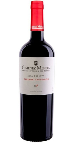 Vino Gimenez Mendez Cabernet Sauvignon 750 Ml