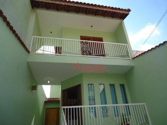 Sobrado Com 3 Dormitórios À Venda, 248 M² Por R$ 580.000 - Parque Novo Oratório - Santo André/sp - So1016