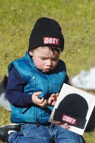 Touca Bebê Criança Menino Menina Swag.