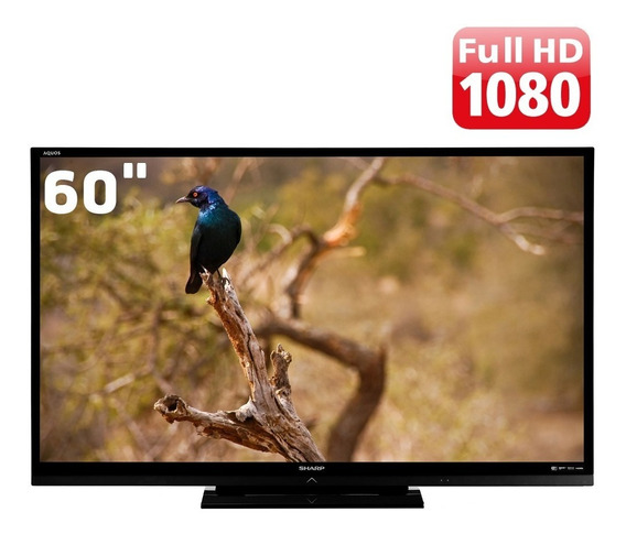 Tv 60 Led Sharp Aquos Lc-60le632b Seminova