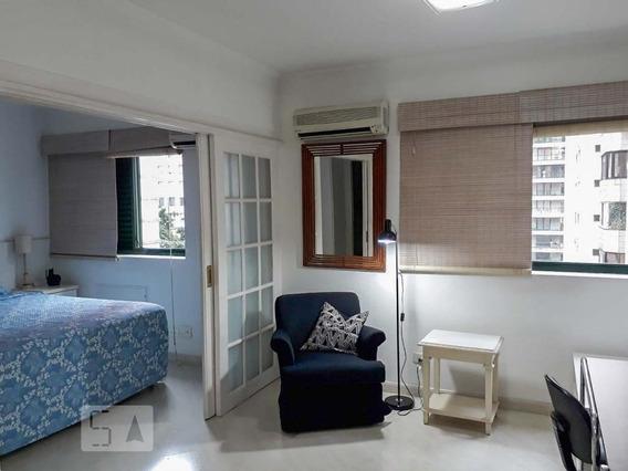 Apartamento Para Aluguel - Itaim Bibi, 1 Quarto, 34 - 893116145