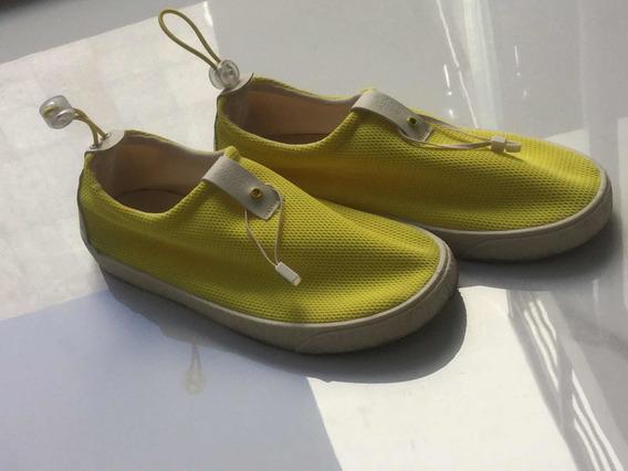 Zapatos Marca Zara Para Niños Talla 20-21