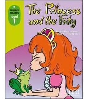 The Princess And The Frog - Pr1 Book + Cd Room - Mm Publi