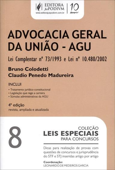Advocacia-geral Da União - Agu - Col. Leis Especiais Para C