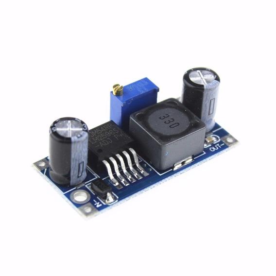 10x Fonte Ajustável Regulador Dc-dc Step Down Lm2596 - Nota