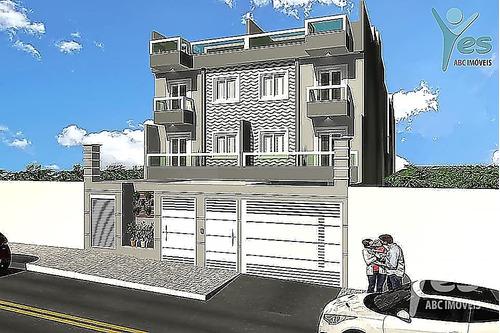 Imagem 1 de 20 de Ref.: 5076 - Apartamento Sem Condomínio, 02 Dormitórios E 01 Vaga No Bairro Campestre, Santo André -  Sp - 5076