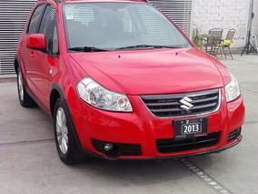 Suzuki Sx4 Xover Std 2013 Rojo, Super, Tomamos Auto, Credito