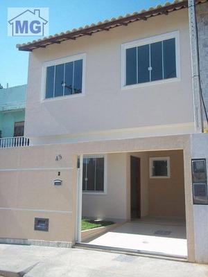 Casa Residencial À Venda, Riviera Fluminense, Macaé. - Ca0173