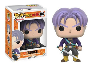 Pop! Anime: Dragon Ball Z - Trunks Vinyl Figure Nuevo Dbz