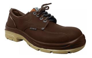 Zapato Boris Seguridad 3161 X Puntera De Acero Dielectrico