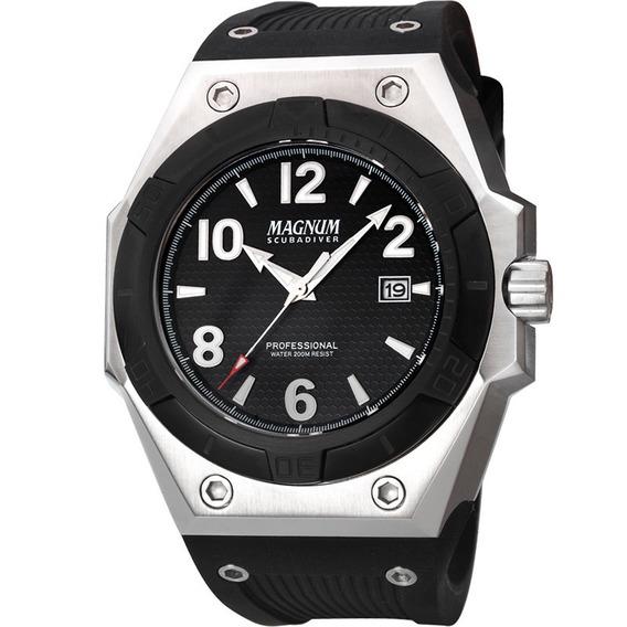 Relógio Masculino Magnum Original Garantia Nota Ma30927t