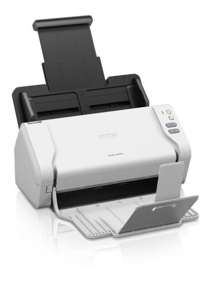 Scanner De Mesa Brother Preto E Colorido 35ppm 70 Ads-2200