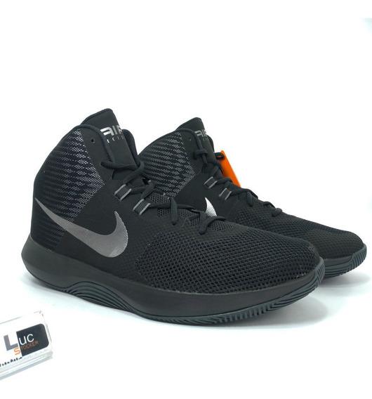 Tênis Nike Air Precision Nbk Black 100% Original