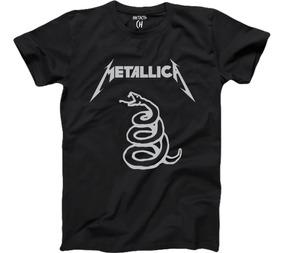 Playeras Metallica, Banda, Rock, Música , Metal,