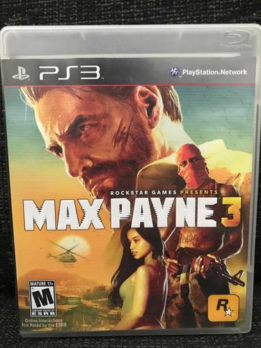 Jogo Max Payne 3 Em Português Play 3 Ps3 #frete Grátis#