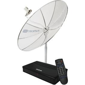 Antena Parabolica Cromus 1,50 M Com Receptor Lnbf Mono