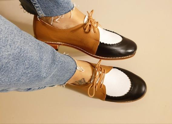 Zapatos Acordonados Dhara