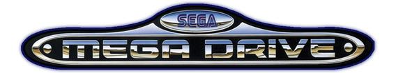 2 Controles Mega Drive + Cabo Av Stereo Mega Drive 3 Novos