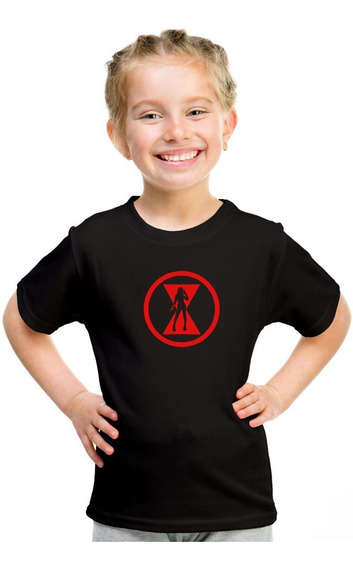 Playera Niña Black Widow Na-1
