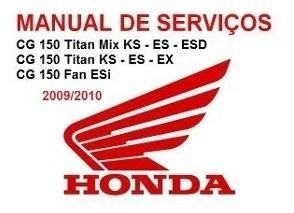 Manual De Serviços Titan 150 Ks-es-esd-ex- Fan Esi 2009-2010