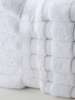 Toallas Blanca Hotelera 100% Algodón 76x132 Cm, Juego 6 Pcs