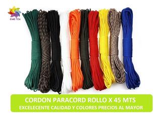 Cordón Paracord Variedad De Colores Cada 10 Mts