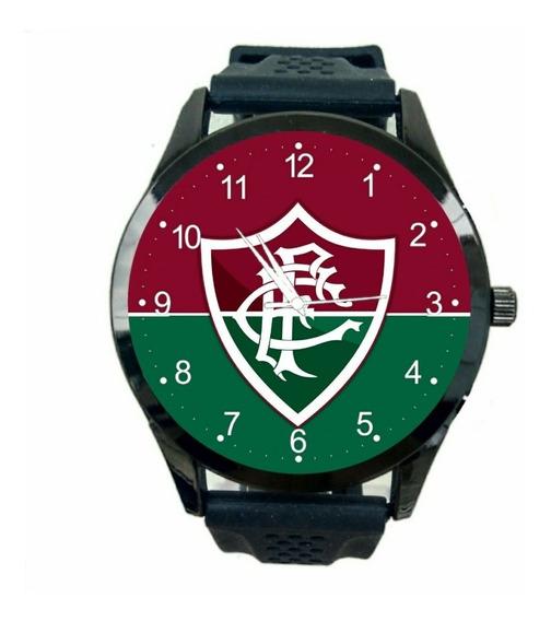 Relogio Personalizado Fluminense Masculino De Pulso Futebol Club Novo Escudo Time Jogo Esportivo T673