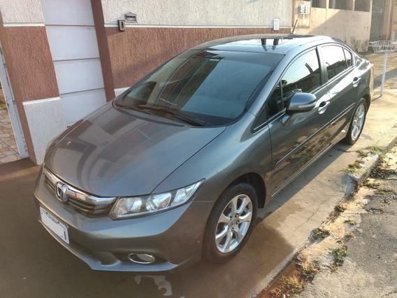 Honda Civic Exs 1.8 Flex Aut. 2012 - Particular -completo !