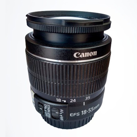 Lente Canon Ef-s 18-55mm F3.5-5.6 Is Ii Imperdivel