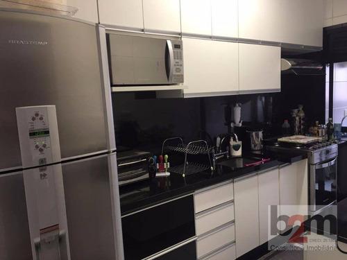 Apartamento Com 2 Dormitórios À Venda, 72 M² - Vila São Francisco - São Paulo/sp - Ap1580