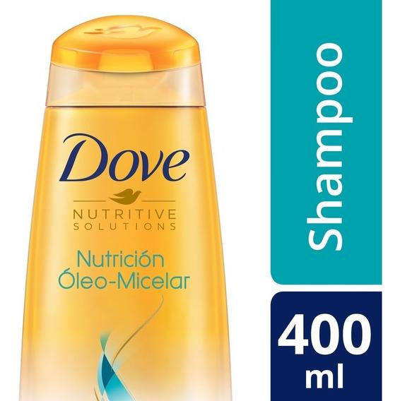 Shampoo Dove Nutrición Óleo Micelar 400ml