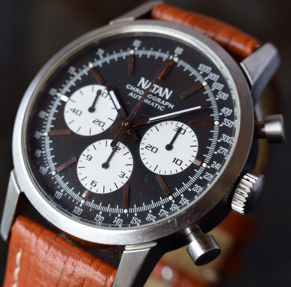 Relógio Natan Chonograph - Automático Eta 7750