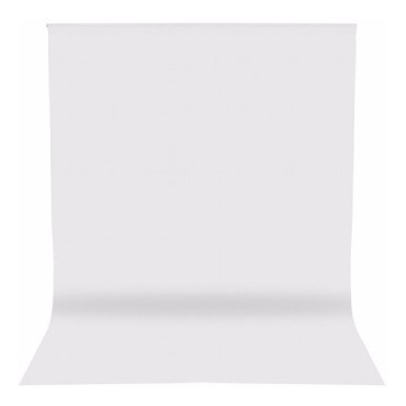 Fundo Infinito Fotográfico Tecido 3,00m X3,00m Branco