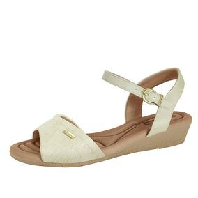 e9ca3b2ea4 Sapato Branco Enfermagem Comfortflex Anabela - Sapatos no Mercado ...