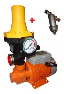 Bomba Presurizadora 4 Baños Presión + Press Control + Filtro