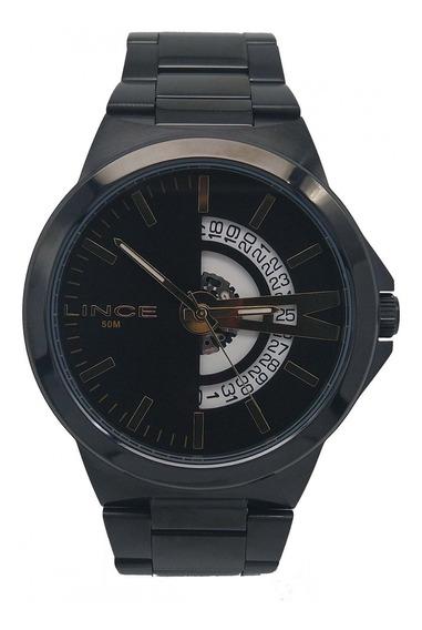 Relógio Lince Masculino Preto