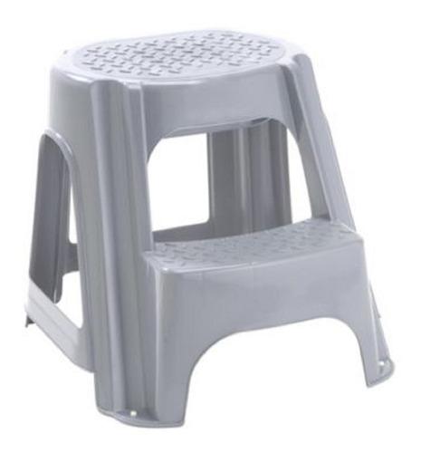 Escalera Plastica Para Uso Domestico De Dos Pasos