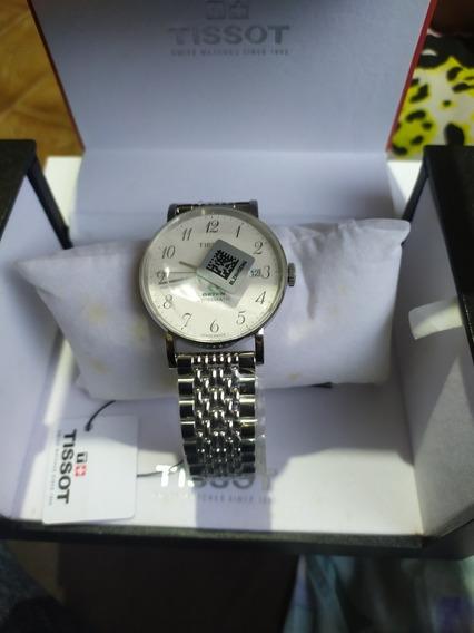 Relógio Tiissot Série Prata, Pulseira De Aço Inoxidável