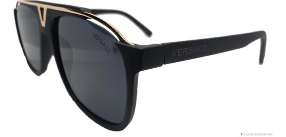 Lentes Versace + Estuche+cubrepolvo+franela+envio Gratis