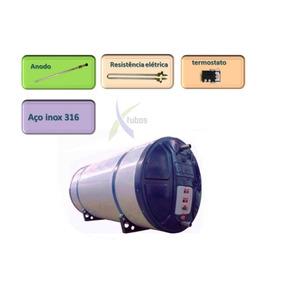 Boiler Aço Inox 316 1020l Anodo Para Aquecedor Solar Elétric